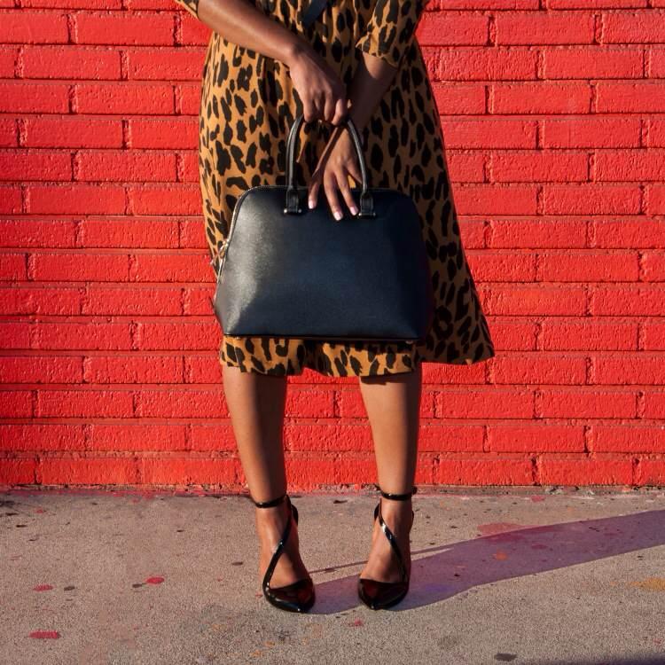 that leopard dress via dainty jewells 4 - downtown demure