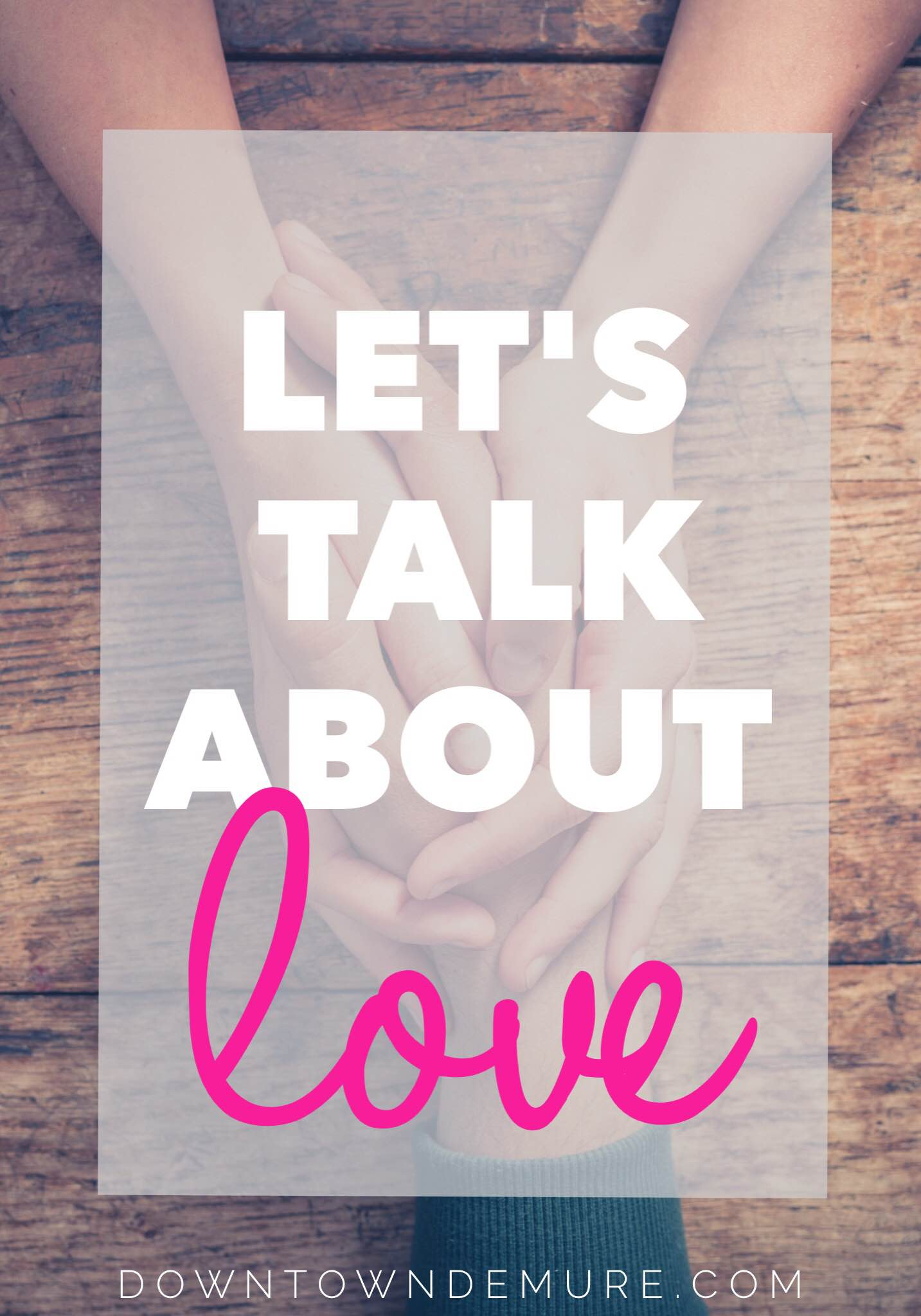 Let's Talk About Love.