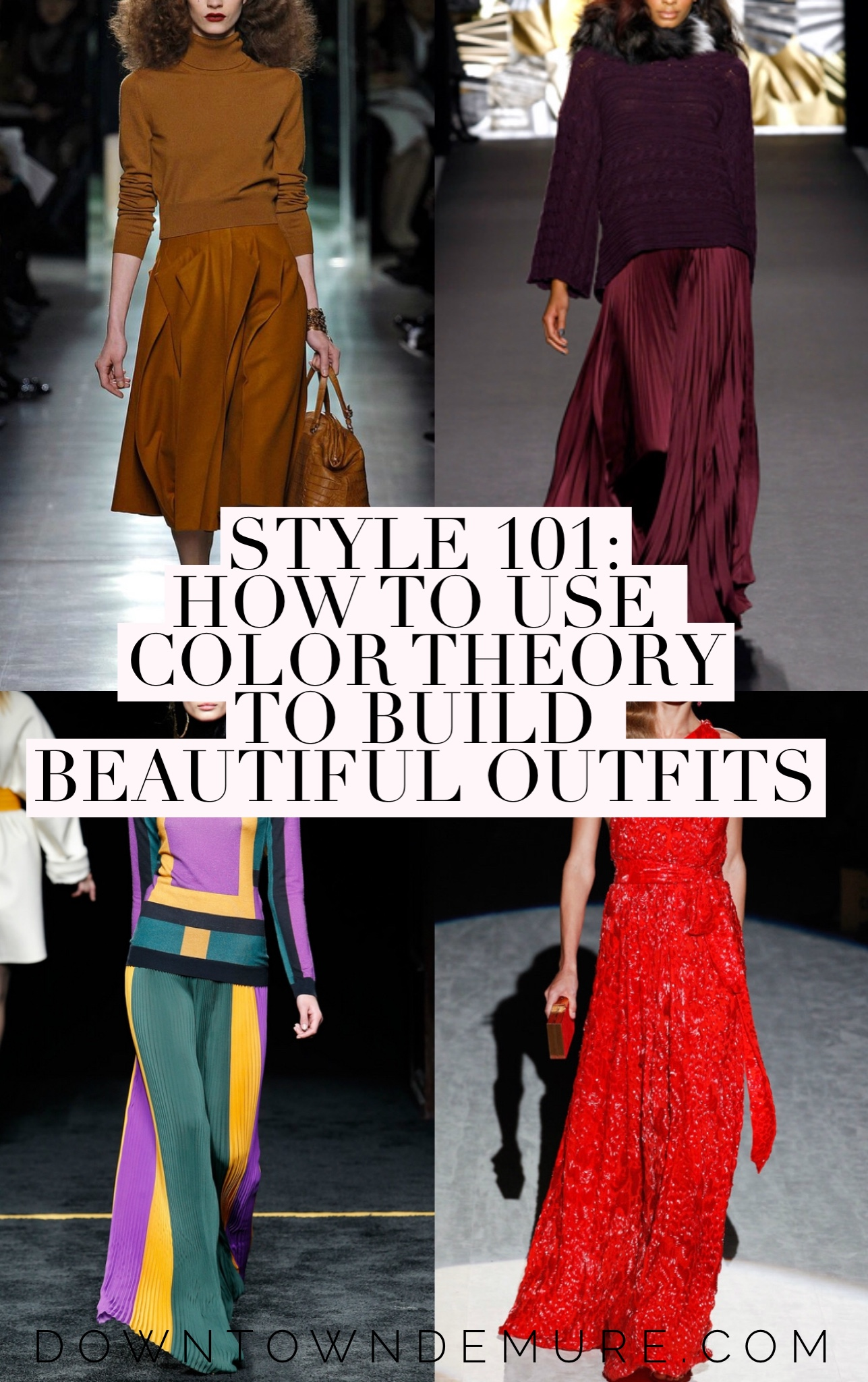 How To Use Color Theory to Build Beautiful Outfits - Downtown Demure