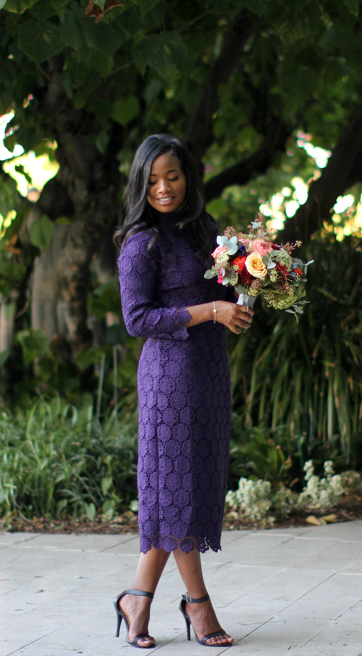 Downtown Demure x Dainty Jewell's - Lady in Lace Dress 5