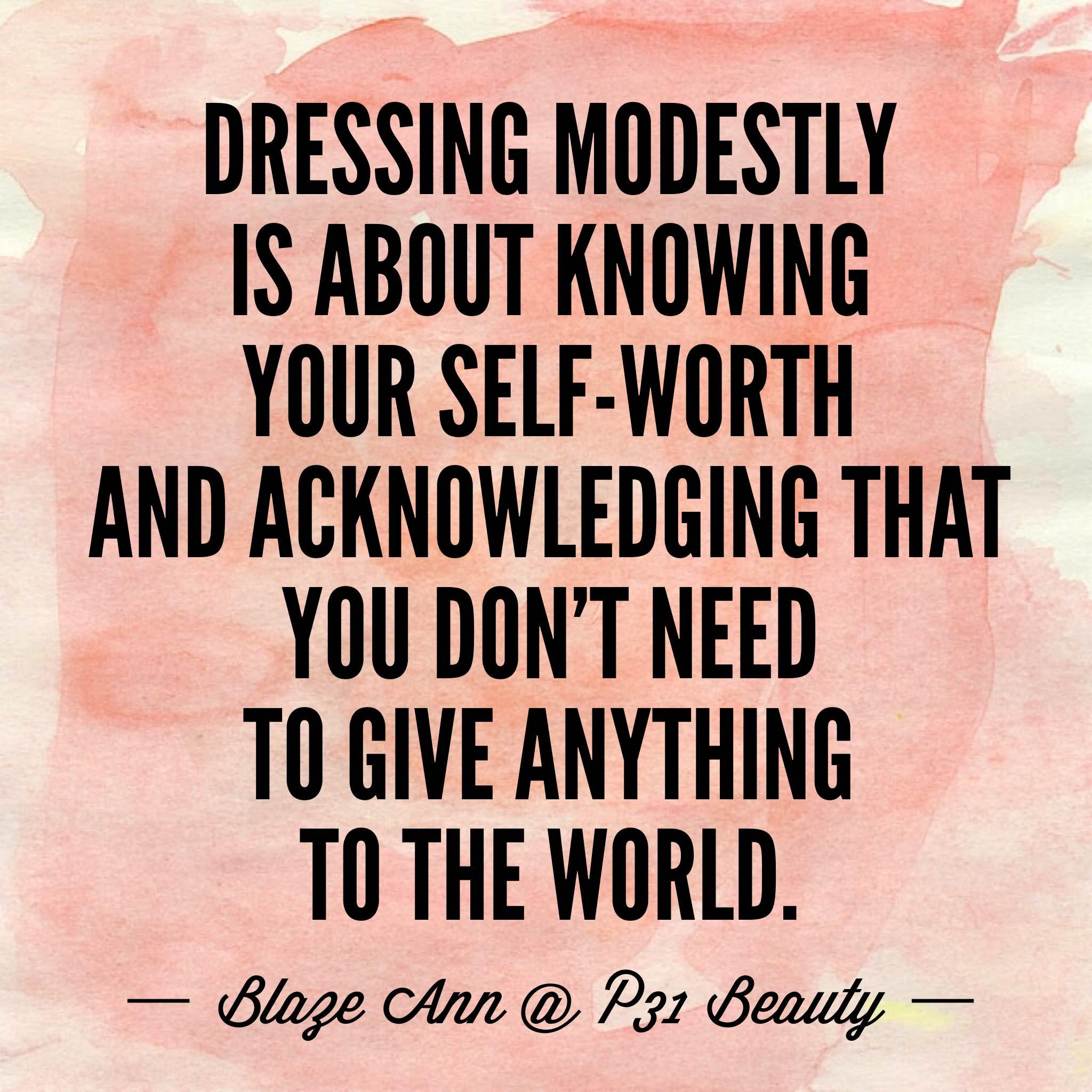 modesty definition bible - studiocrise