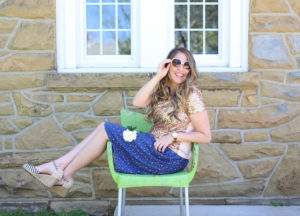 Tips on how to dress modestly and stylishly in the summer via DowntownDemure.com - 2