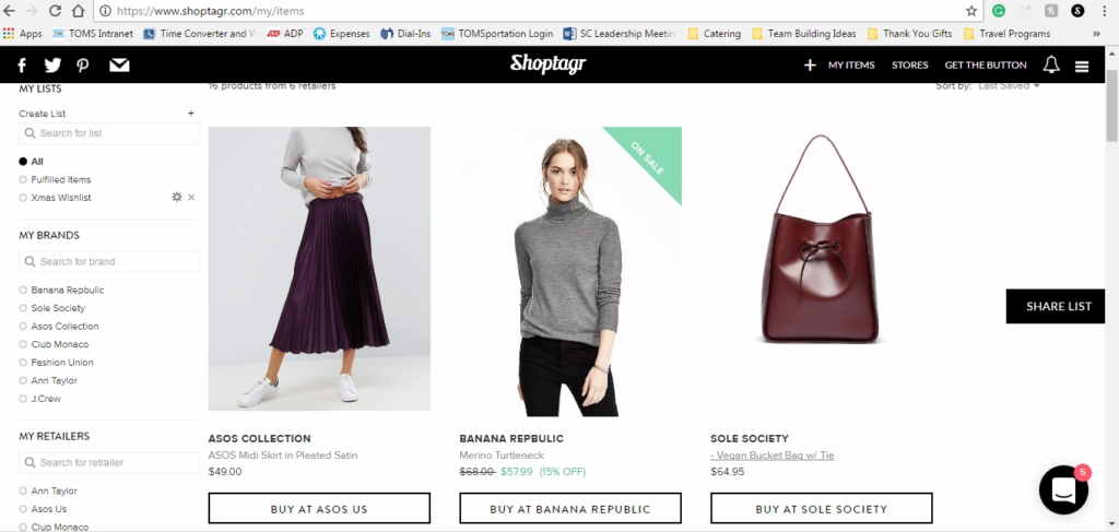 shoptagr-homepage-on-downtown-demure