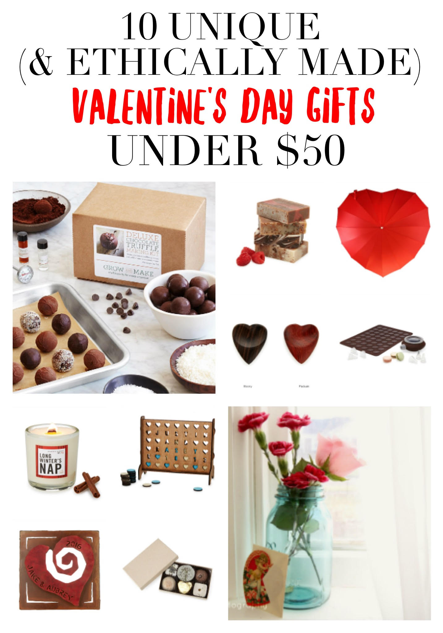 10 totally awesome + ethically made valentine's day gifts under $50