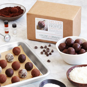 valentine gift idea - DIY Truffle Kit from UnCommon Goods