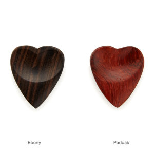 valentine gift idea - heart shaped guitar picks from UnCommon Goods